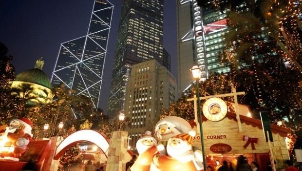 Christmas celebrations in Hong Kong